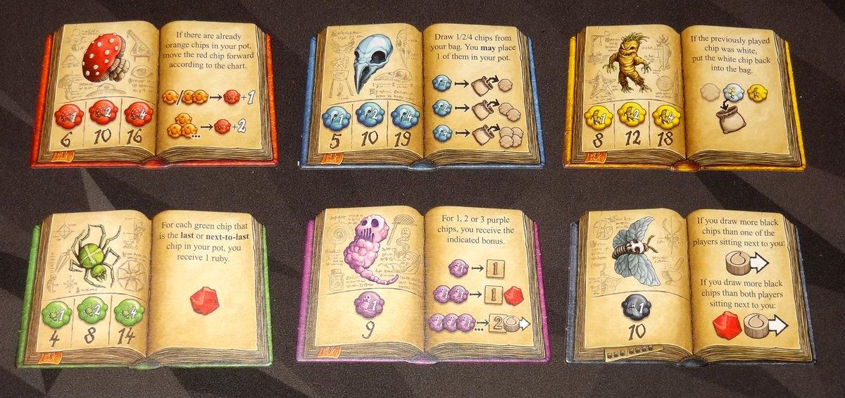 The Quacks of Quedlinburg ingredient books