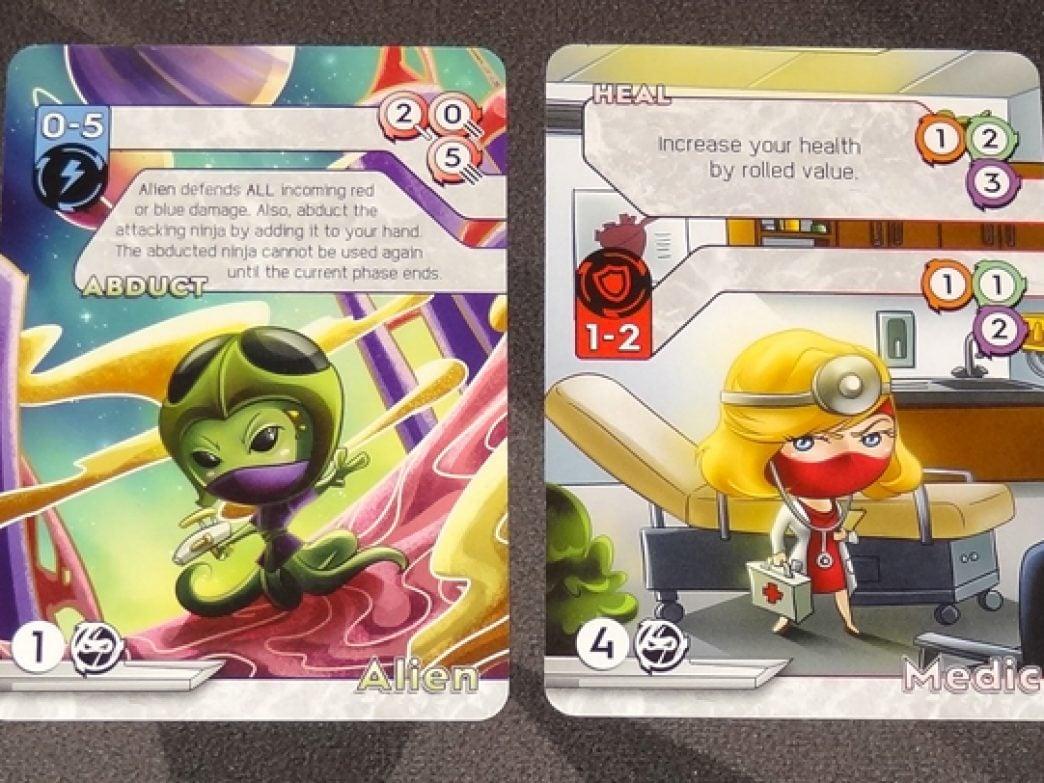 Tiny Ninjas advanced cards