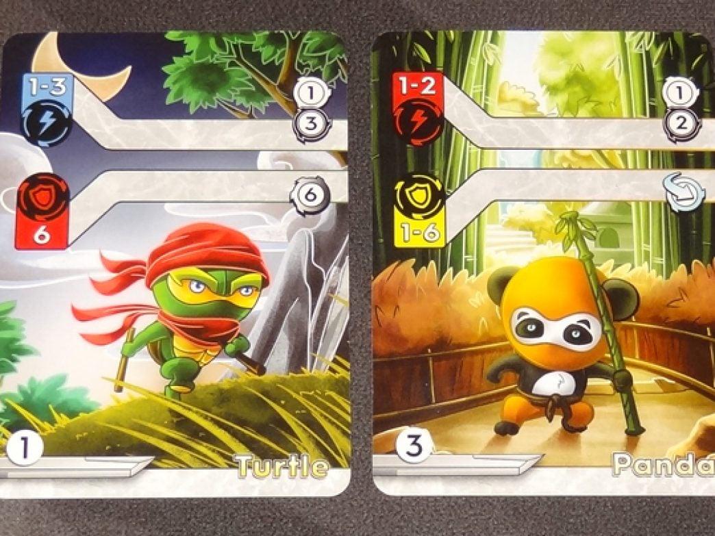 Tiny Ninjas basic cards