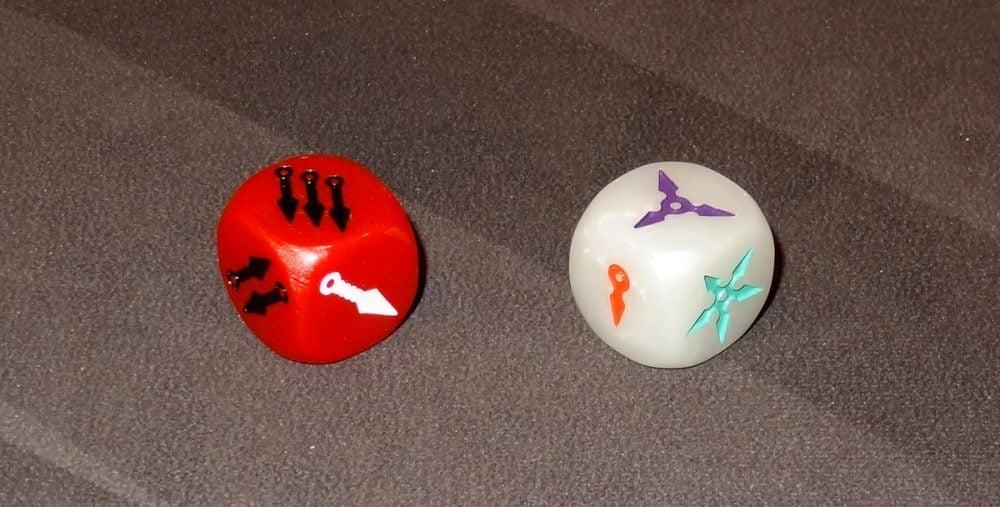 Tiny Ninjas dice