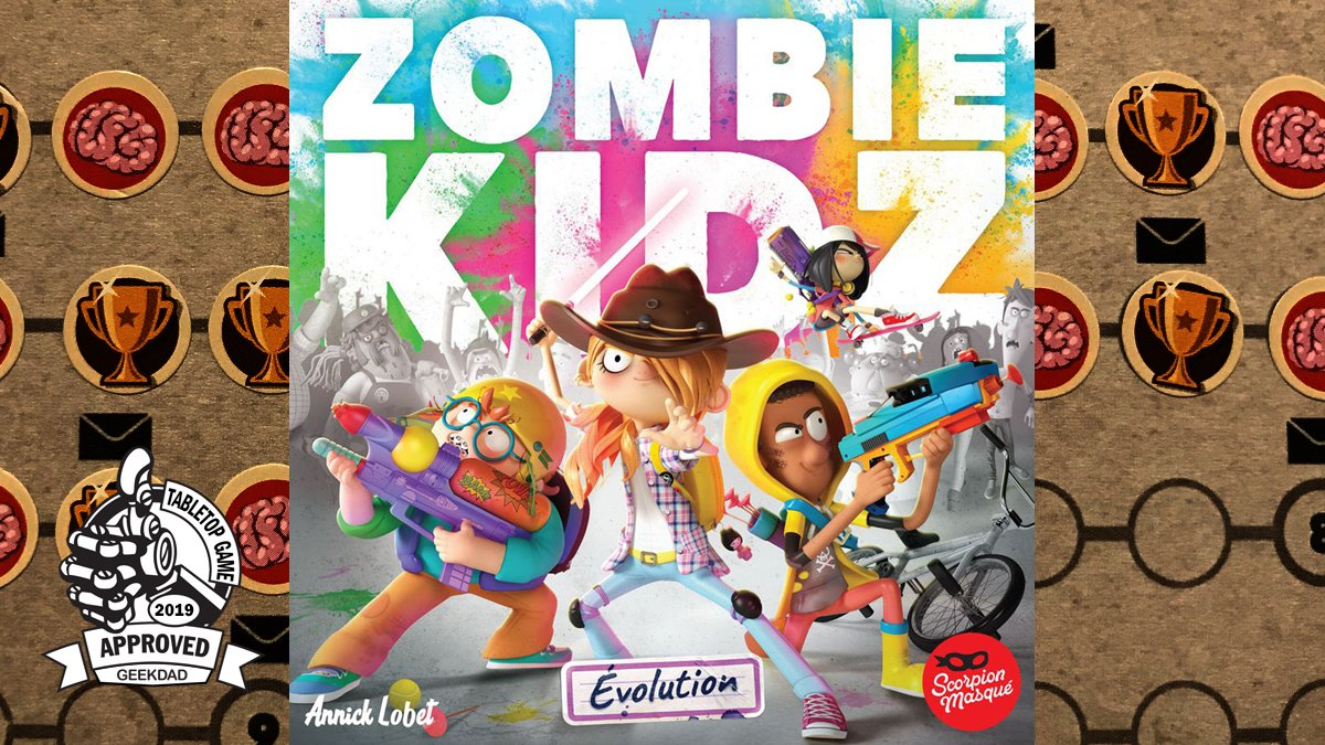 Zombie Kidz Evolution cover