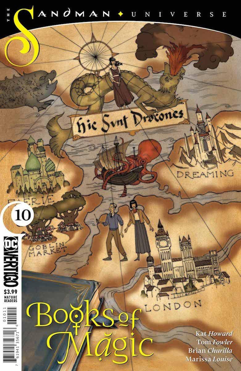 Books of Magic #10 cover