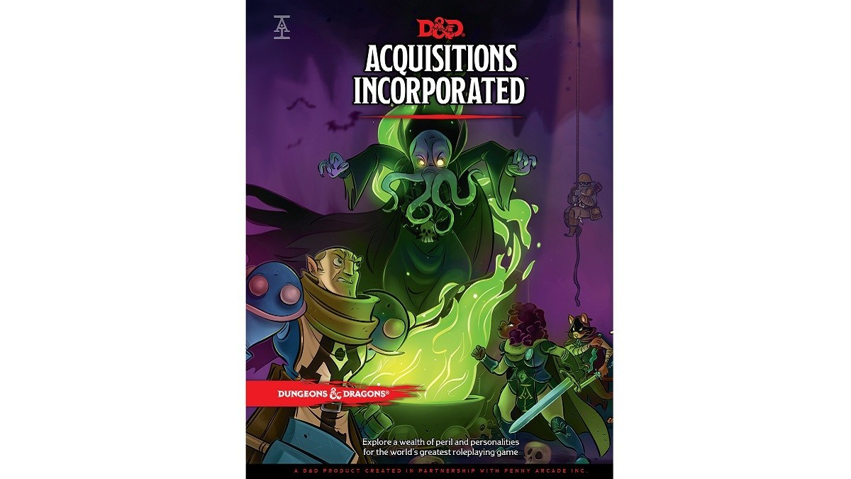 Acquisitions Incorporated Cover art