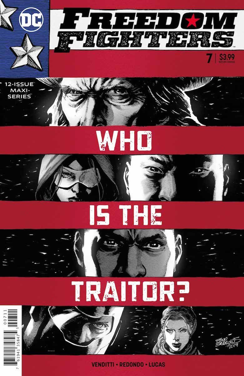 Freedom Fighters #7 cover