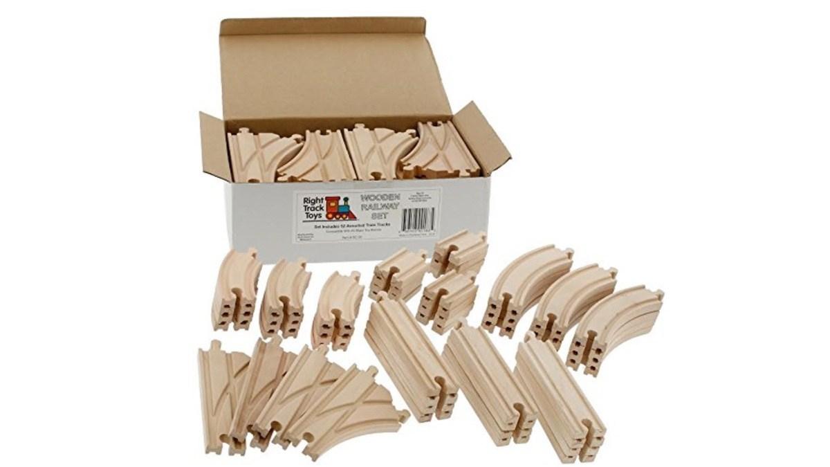 Geek Daily Deals 071119 brio toys wooden train tracks