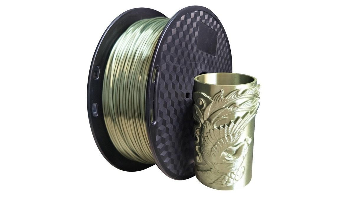 Geek Daily Deals 072619 bronze PLA filament