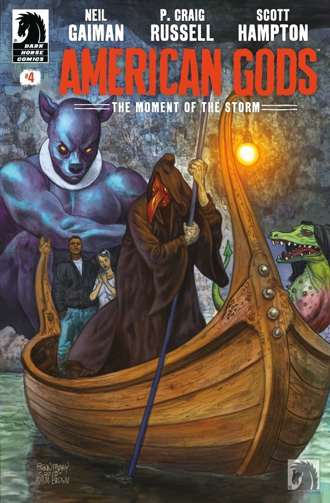 American Gods: The Moment of The Storm # 4