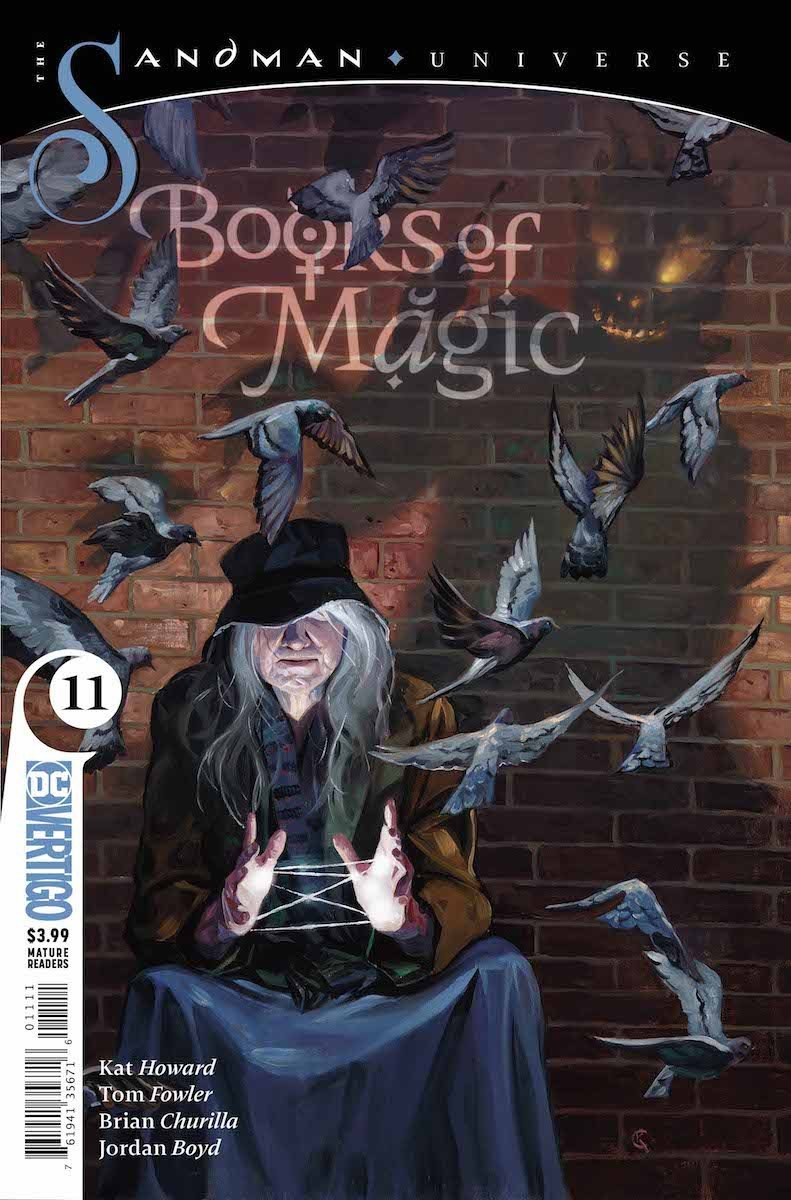 Books of Magic #11 cover