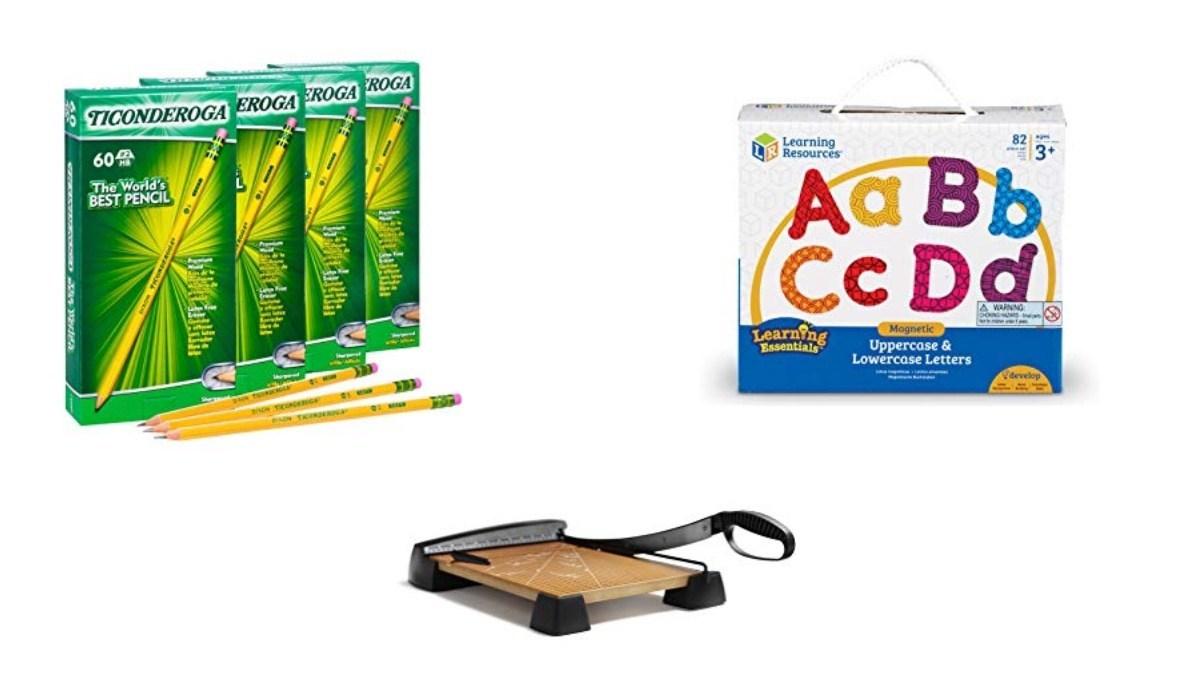 Geek Daily Deals 082219 school supplies