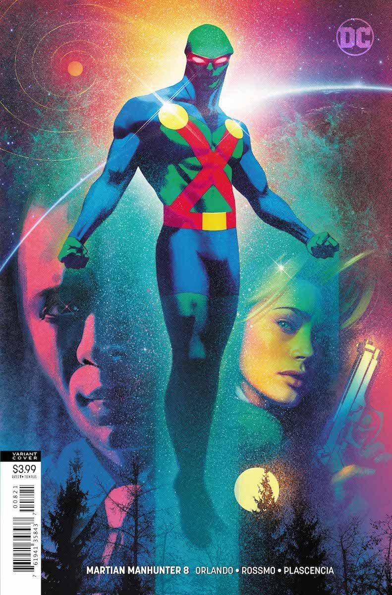 Martian Manhunter #8 variant cover