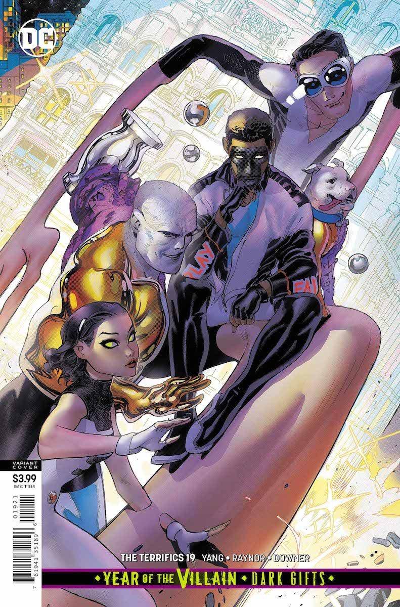 The Terrifics #19 cover