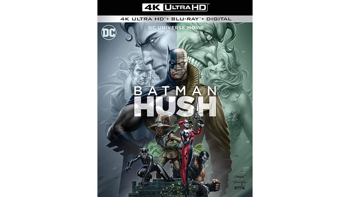 batman hush 4k