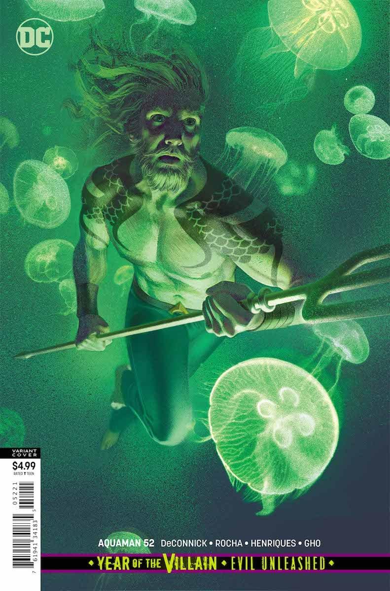 Aquaman #52 cover