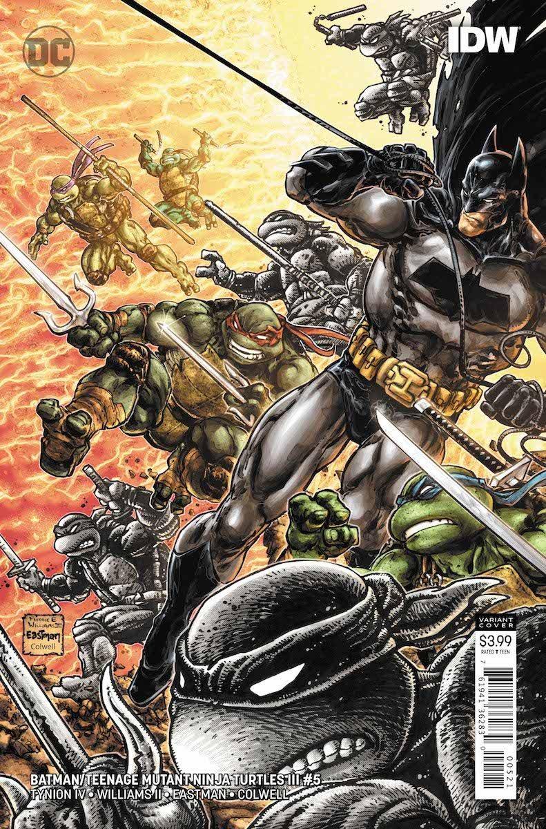 Batman/Teenage Mutant Ninja Turtles III #5