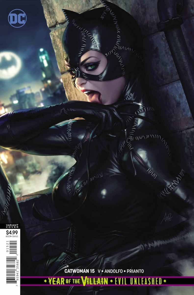 Catwoman #15 cover