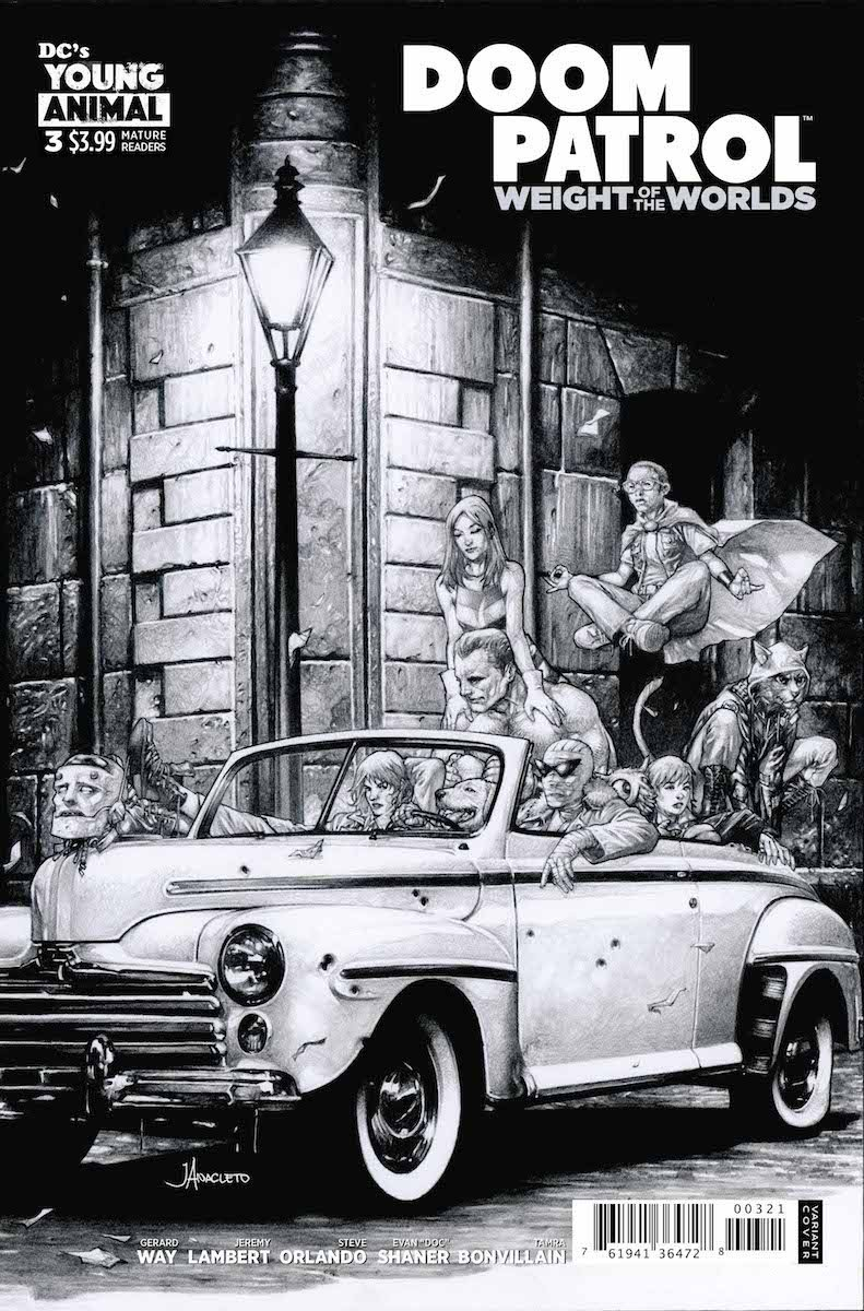 Doom Patrol Weight of the Worlds #3