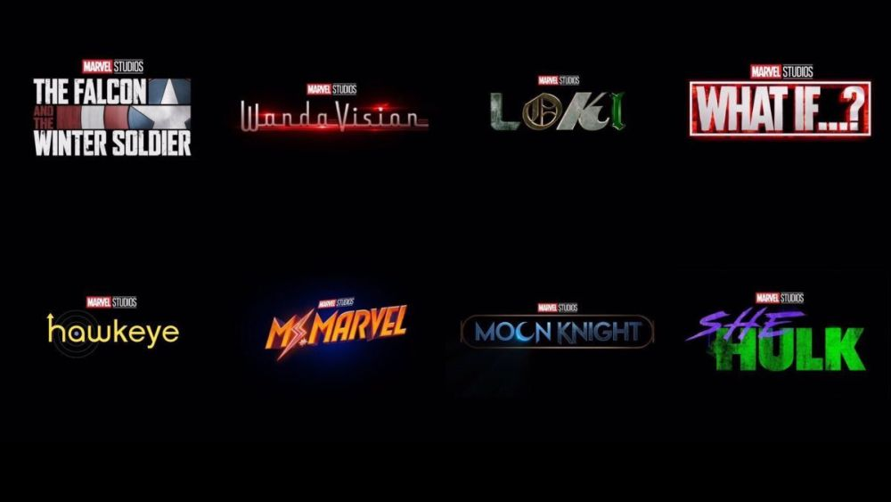 Disney Plus Marvel Slate