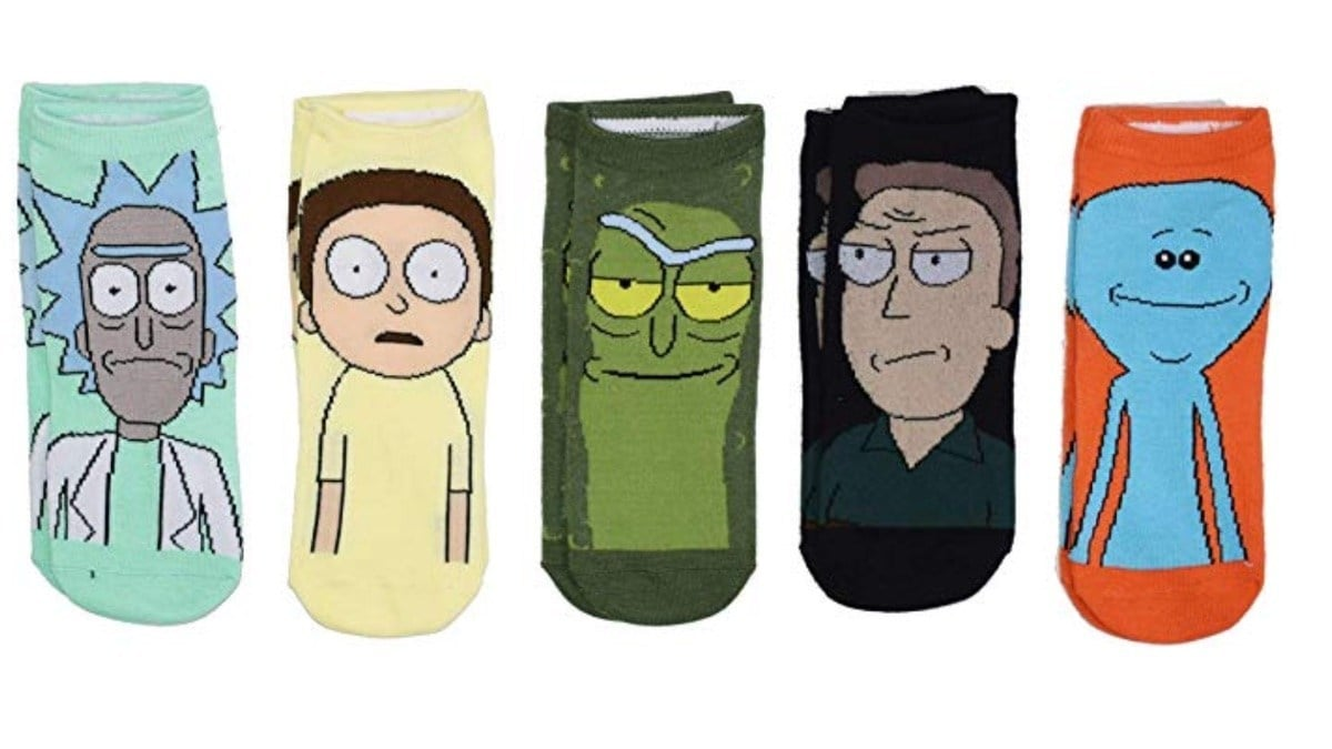 Geek Daily Deals 092119 rick and morty socks