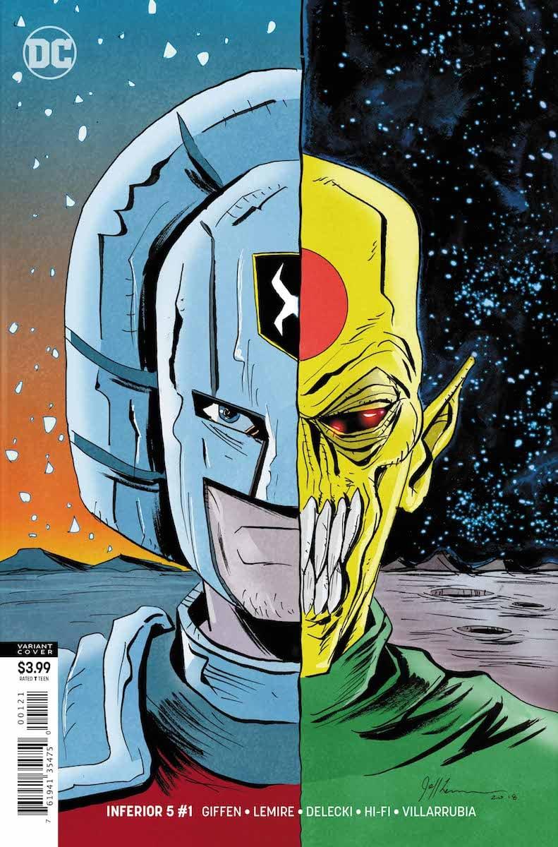 Inferior 5 #1 cover