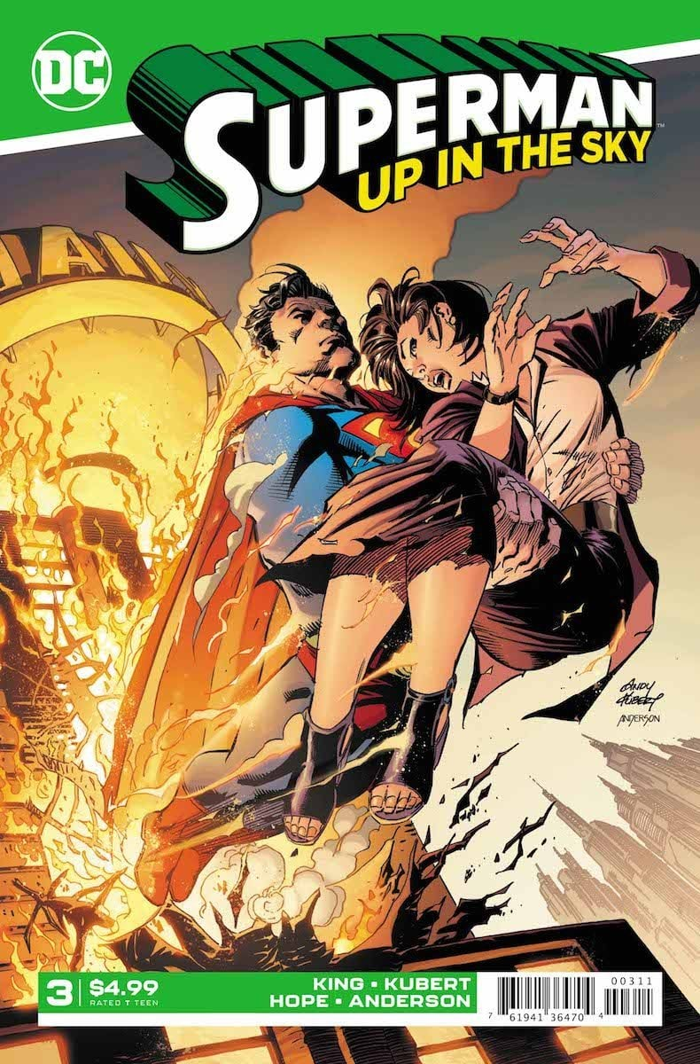 Superman Up in the Sky #3 cover