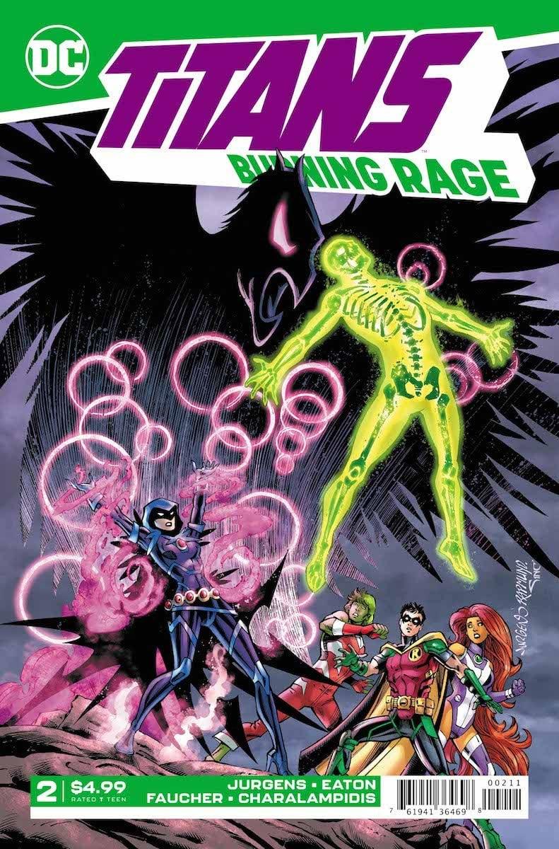 Titans: Burning Rage #2