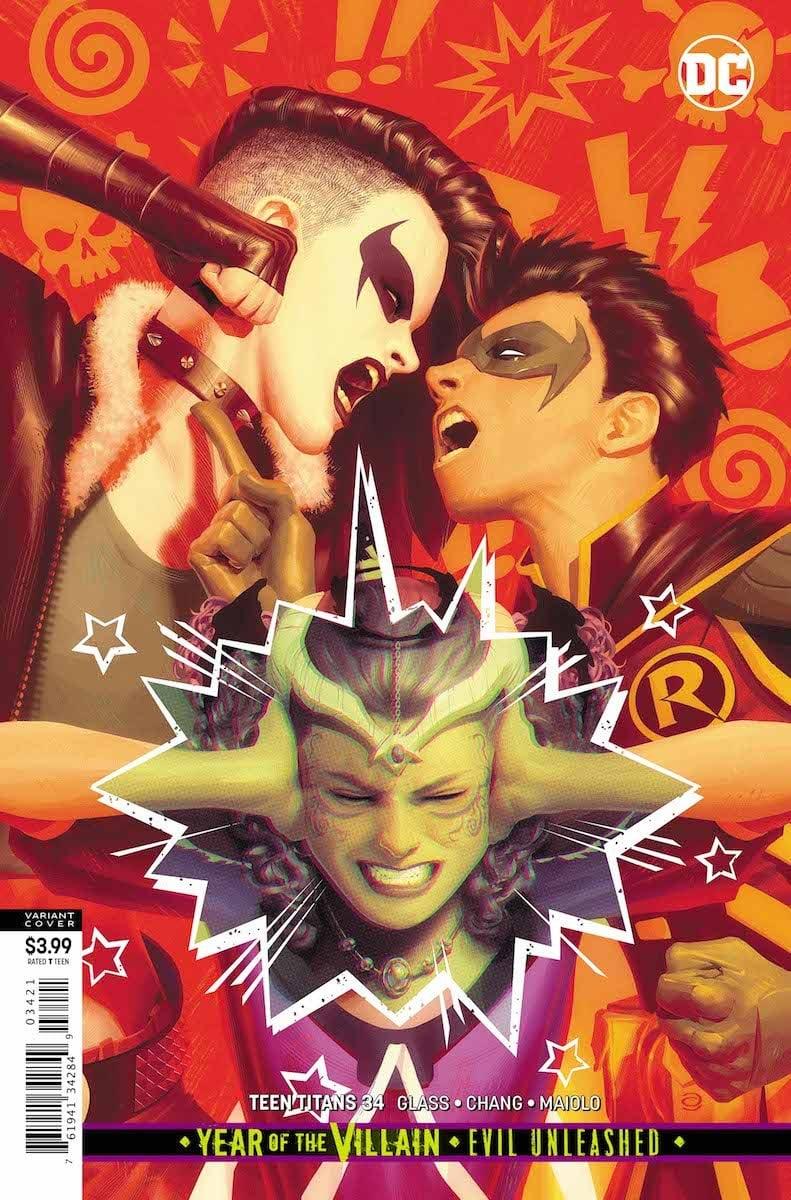 Teen Titans #34
