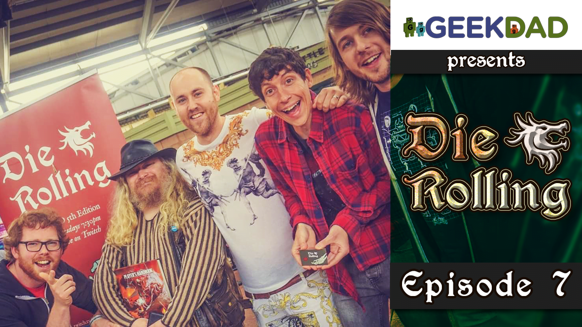 D&D Actual Play | GeekDad.com presents DieRolling: The Star Engine | Episode 7