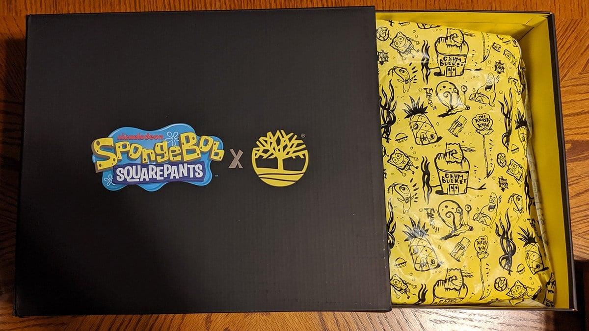 spongebob x timberlands featured