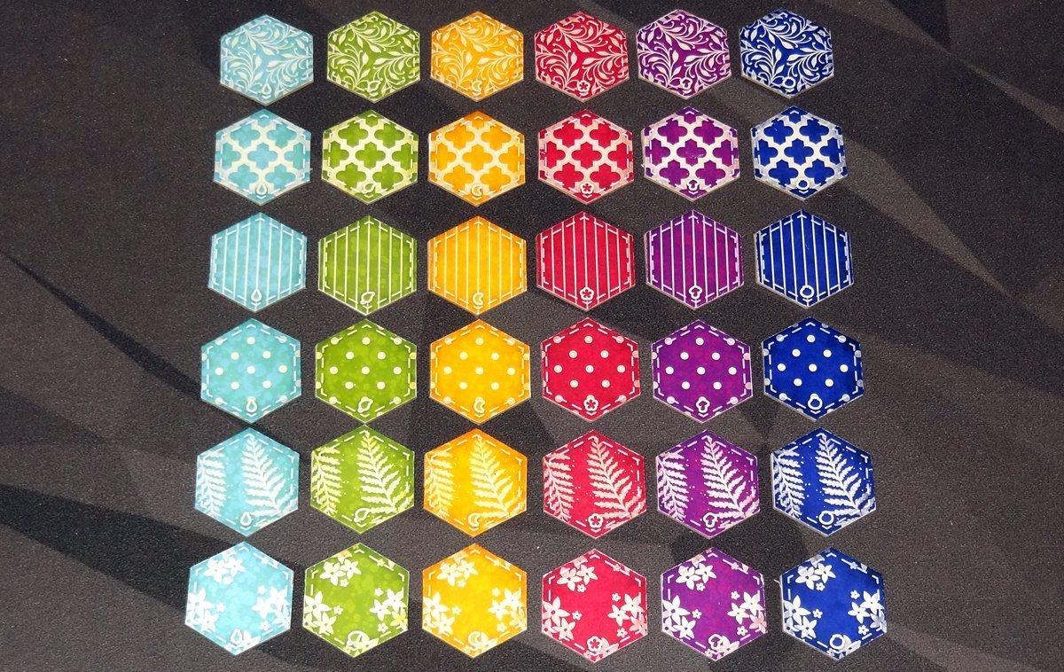 Calico tiles