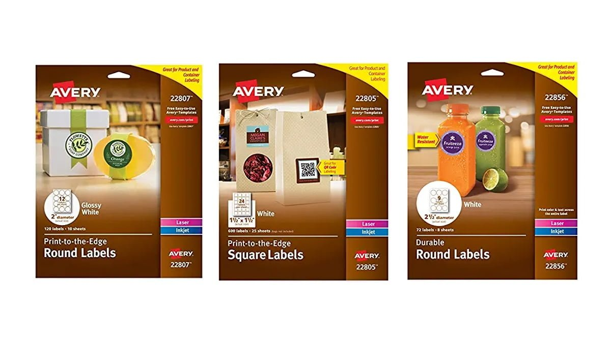 Geek Daily Deals 100719 avery labels
