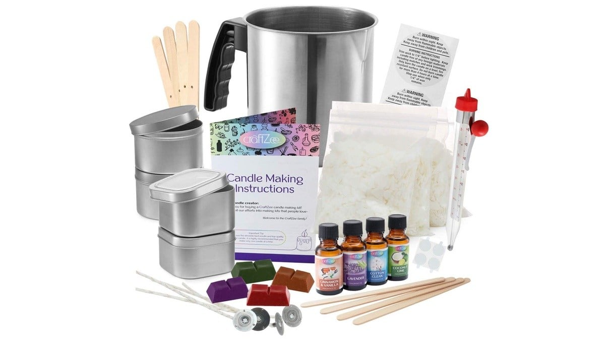 Geek Daily Deals 101719 candle making kit