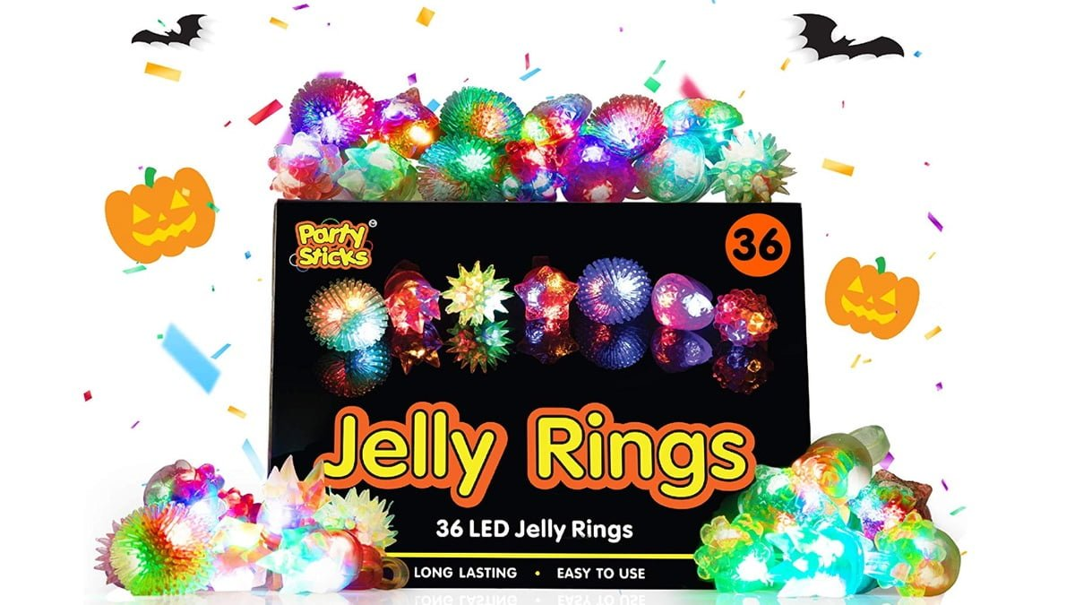 Geek Daily Deals 101919 led jelly rings