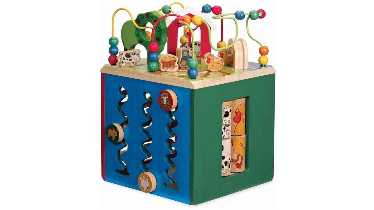 Geek Daily Deals 102119 wooden activity cube