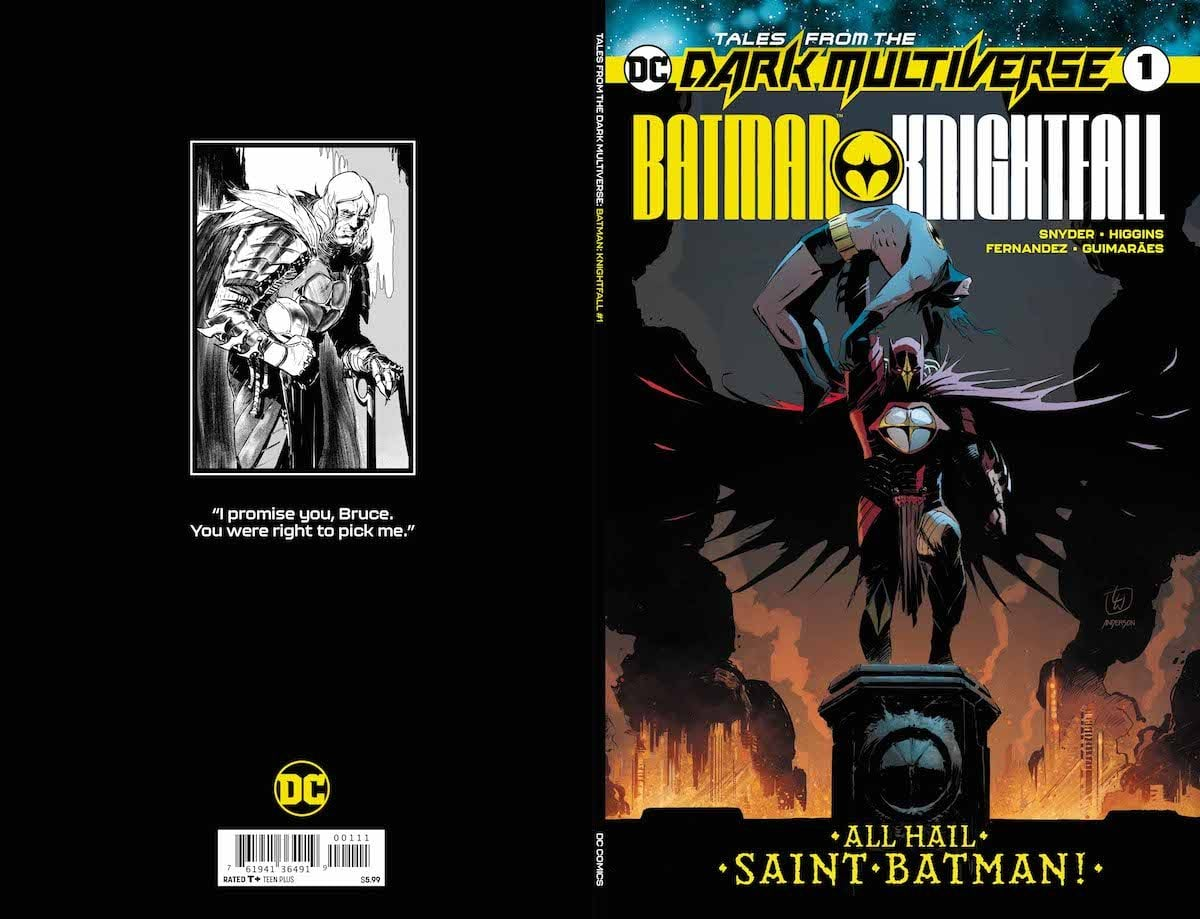 Tales From the Dark Multiverse: Batman Knightfall #1