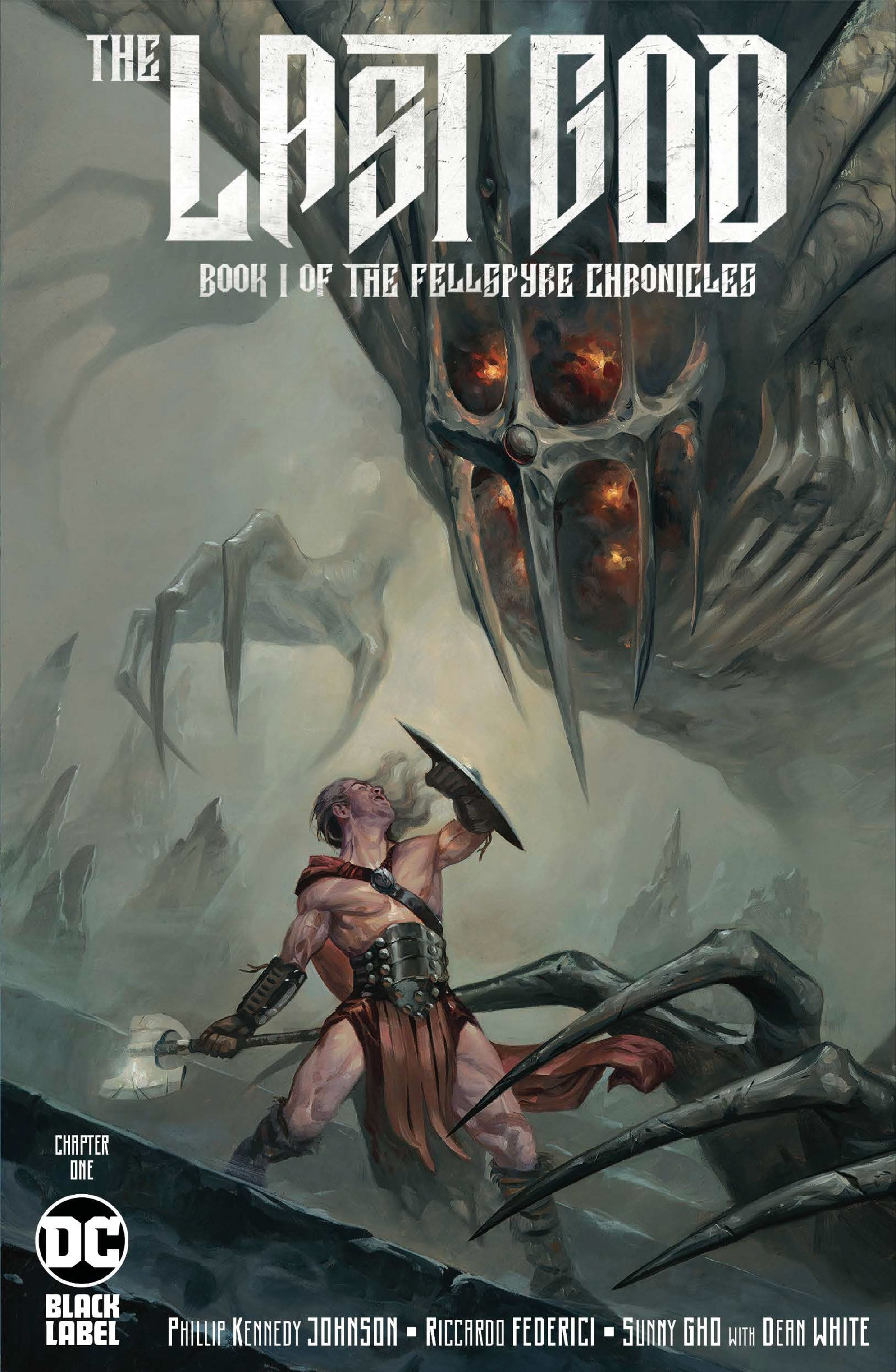 The Last God Cover