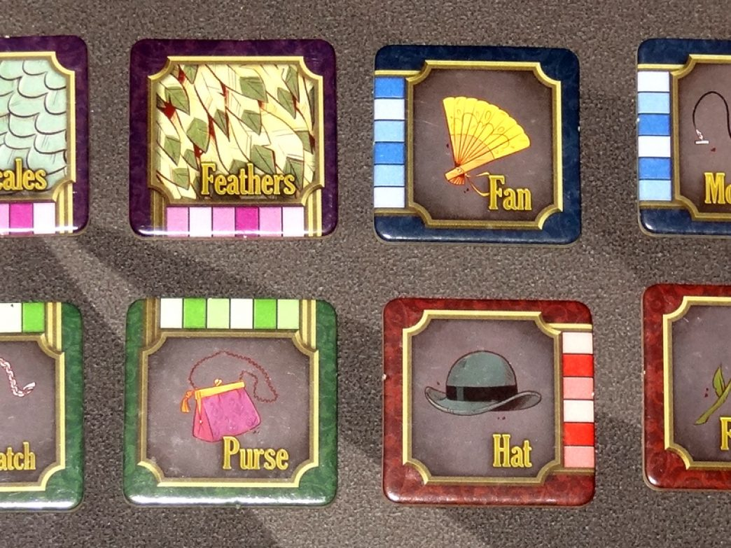 5-Minute Mystery clue tiles