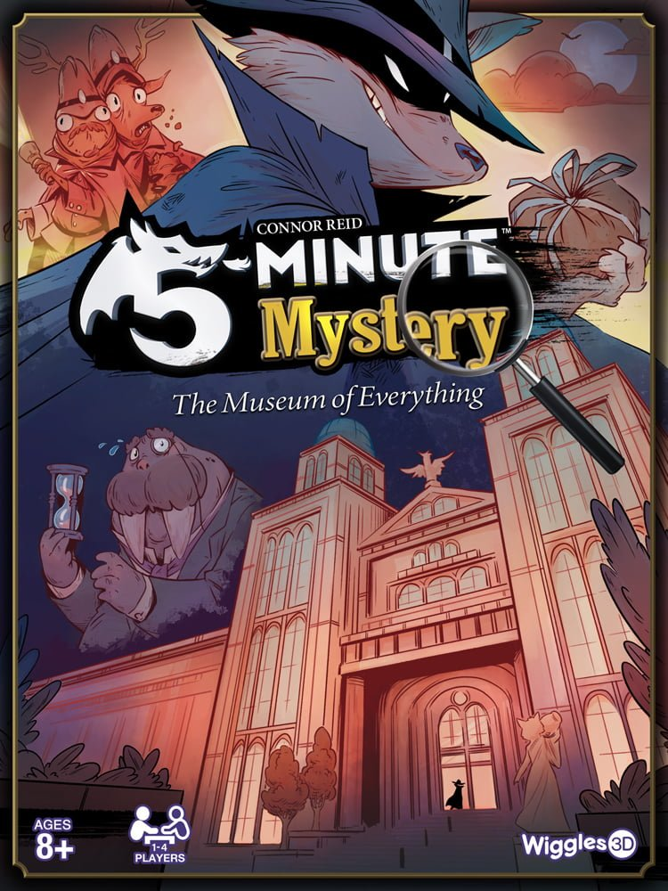 5-Minute Mystery box cover