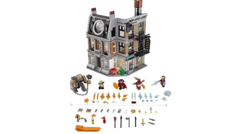 Geek Daily Deals 110319 lego avengers kit