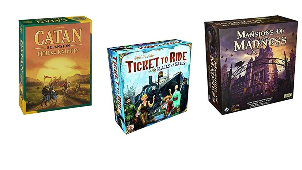 Geek Daily Deals 112919 black friday board games