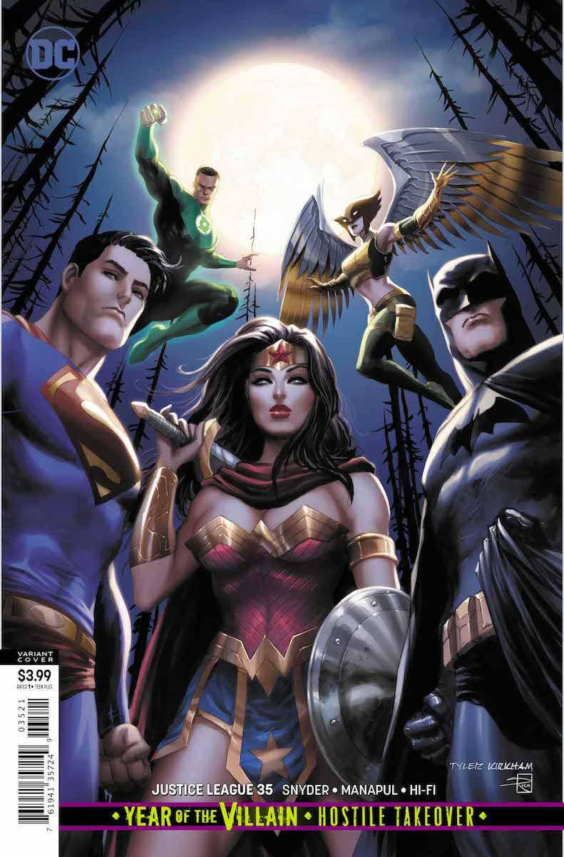 Justice League #35