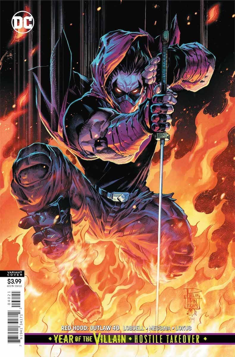 Red Hood: Outlaw #40