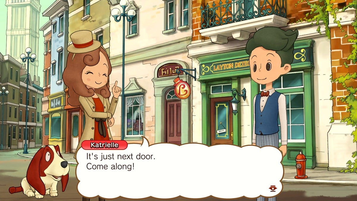Layton's Mystery Journey featured