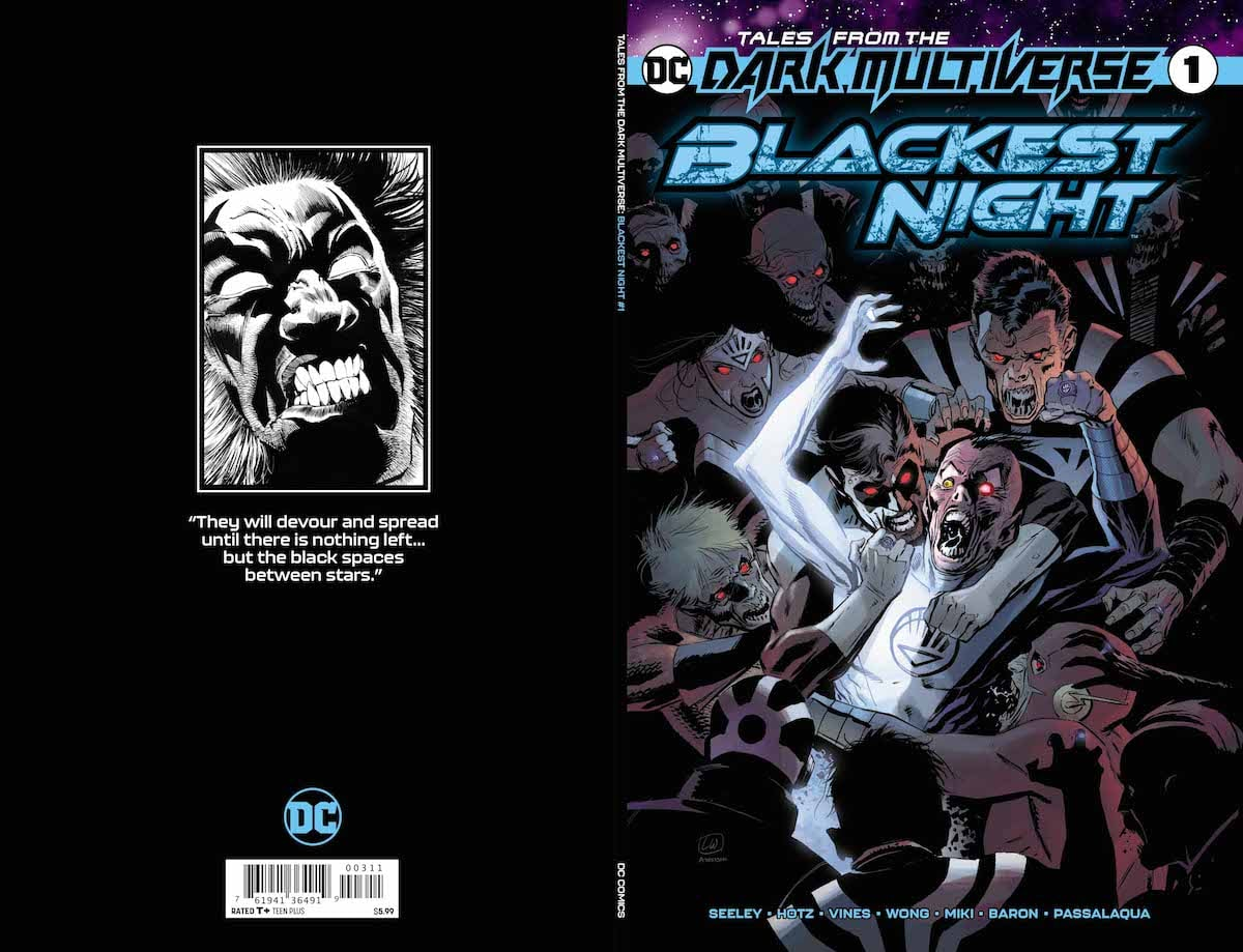 Dark Multiverse: Blackest Night #1