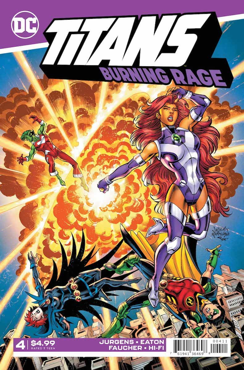Titans: Burning Rage #4