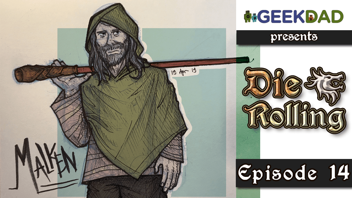 D&D Actual Play | GeekDad.com presents DieRolling: The Star Engine | Episode 14