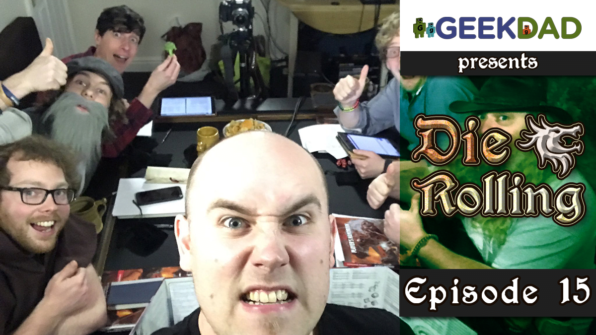 D&D Actual Play | GeekDad.com presents DieRolling: The Star Engine | Episode 15