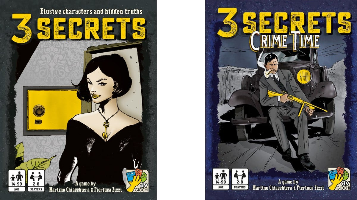 3 Secrets and 3 Secrets: Crime Time box covers