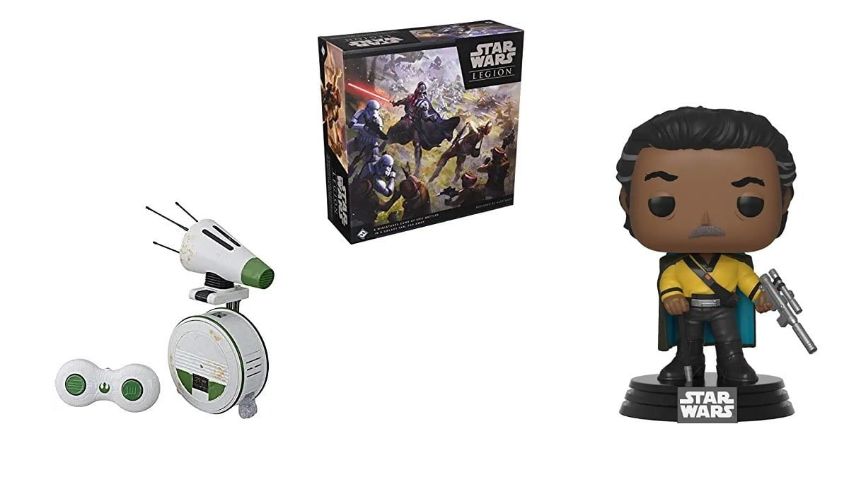 Geek Daily Deals 120319 star wars toys and games