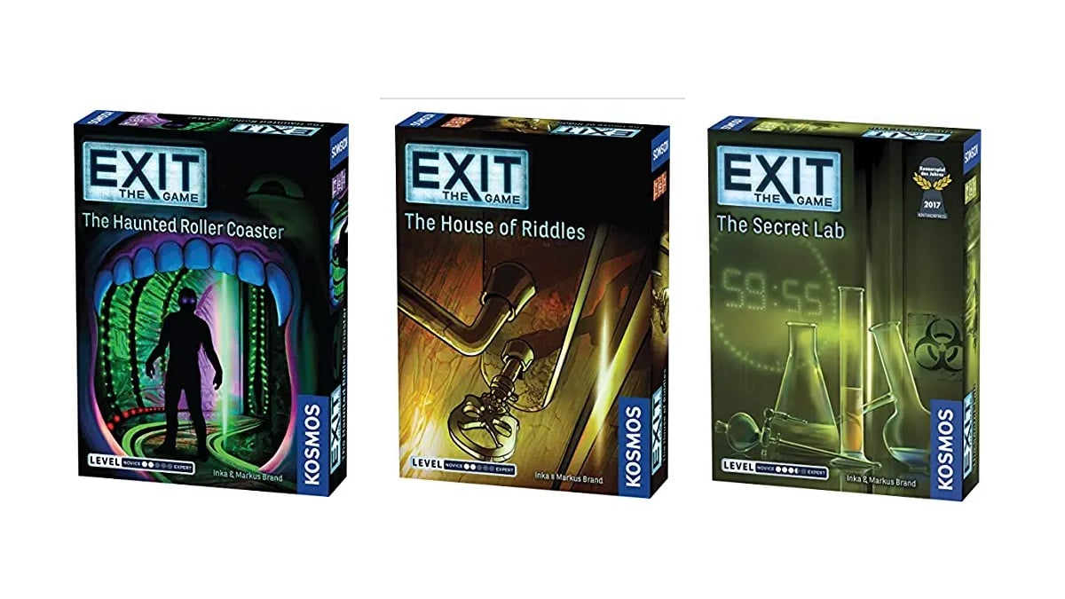 Geek Daily Deals 121319 escape room games