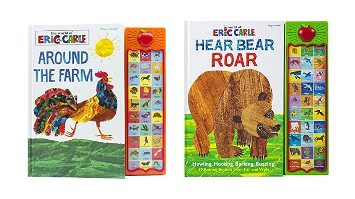 Geek Daily Deals 121619 eric carle sound books